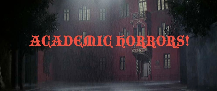 Academic Horrors! Banner copy